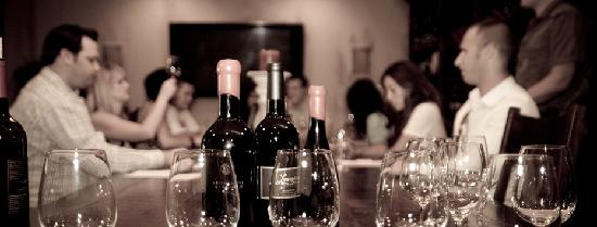 Sunrider Jeep and Wine Tours of Temecula: having some wine at Leonesse