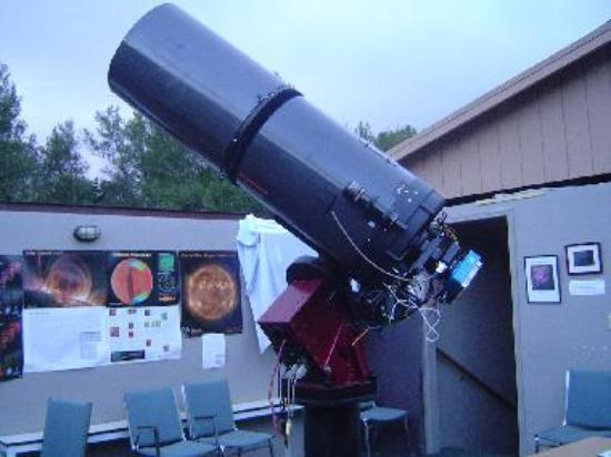 CCD camaera on Telescope