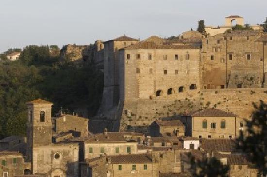 Terme di Sorano: veduta panoramica