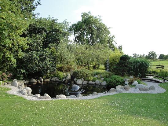 Greetsiel, ألمانيا: Ansicht vom Garten