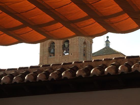 Retiro del Maestre: View from the mini balcony
