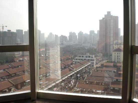 Tongwen Junting Hotel: blick aus zimmer