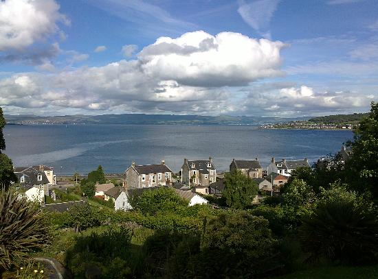 ‪‪Rothesay‬, UK: View over Rothesay Bay from Munros‬