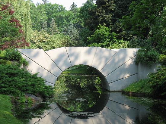 Sun Bridge By Alden B Dow Picture Of Dow Gardens Midland Tripadvisor