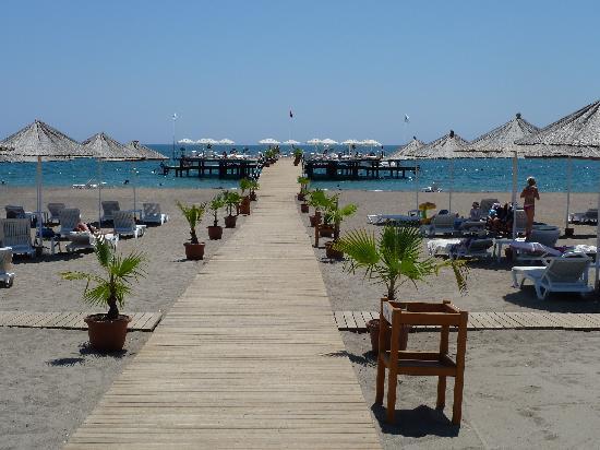 Baia Lara Hotel: View from the jetty