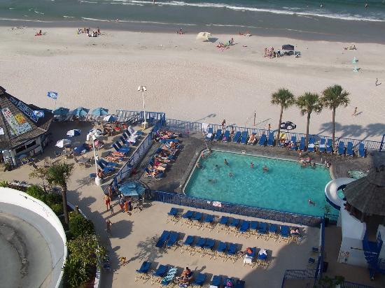Daytona Beach Regency Pool Area And Tiki Bar