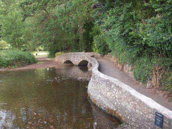 Spears Cross: Gallox Bridge (Mediaeval packhorse bridge)
