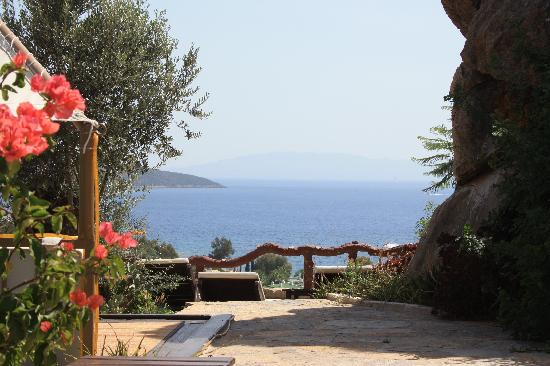 Aegean Gate Hotel: View from the top terrace