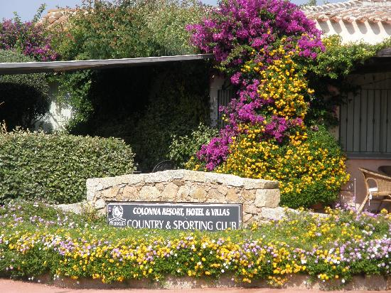 Colonna Country and Sporting Club: ingresso