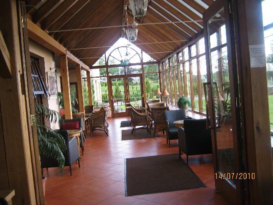 Silver Tassie Hotel & Spa : relaxing area