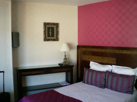 Hotel Alcyon : chambre