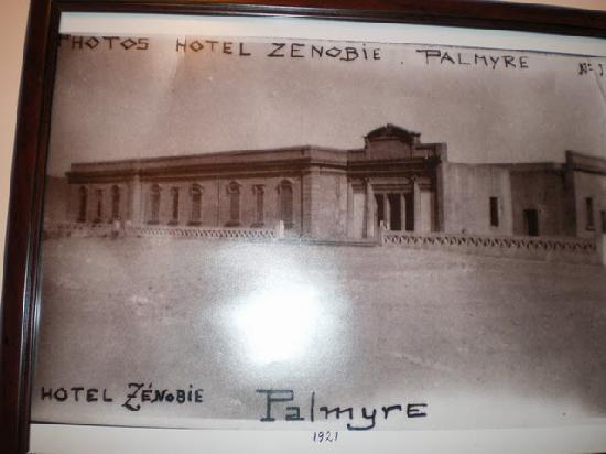 Zenobia Cham Palace Old Photo 1921 Zenobia Cham Palace Hotel Palmyra Tripadvisor