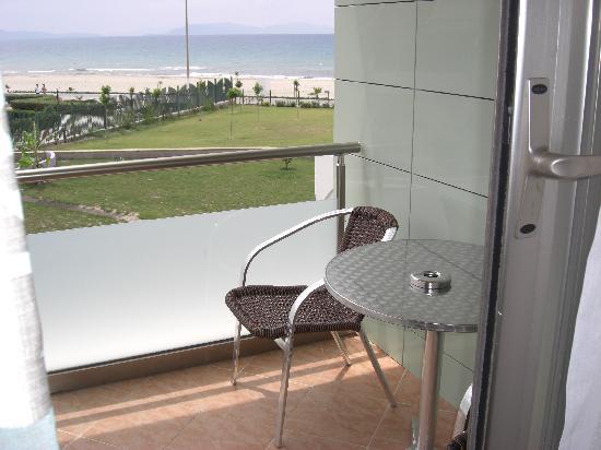 Grand Belish Hotel: balcony