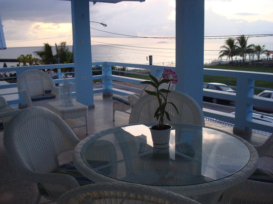 Paraiso Azul: Second Floor Balcony
