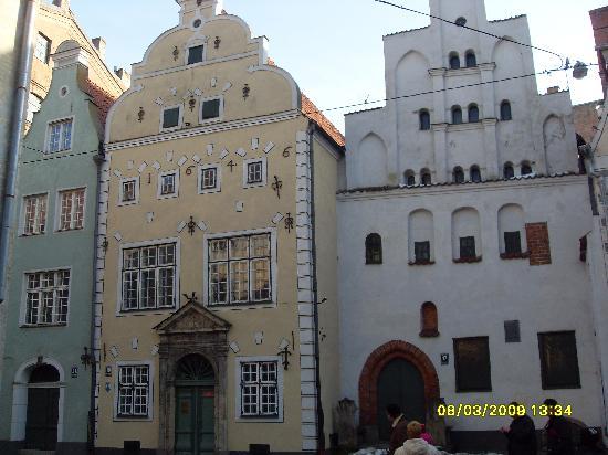 Riga, Latvia: The 3 brothers
