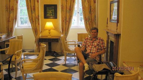 Cavalieri Hotel Corfu: bar/lobby of Cavalieri Hotel