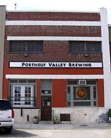 Portneuf Valley Brewing : The front of our building