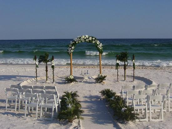 Wyndham Garden Fort Walton Beach Destin Our Wedding Setup