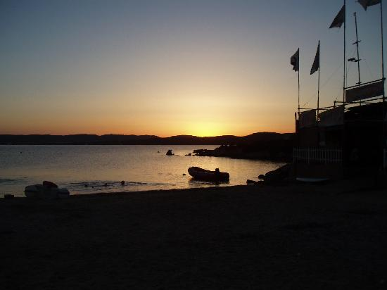 Isola dei Gabbiani - Land of Water : tramonto all'Isola dei Gabbiani