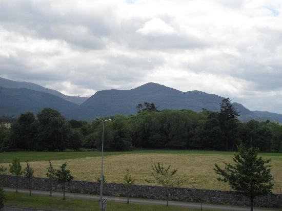 Gleneagle Hotel: view from window