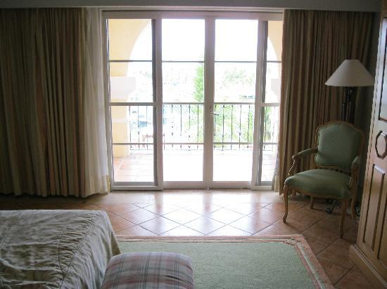 Grand Isla Navidad Resort: Balcony from master bedroom