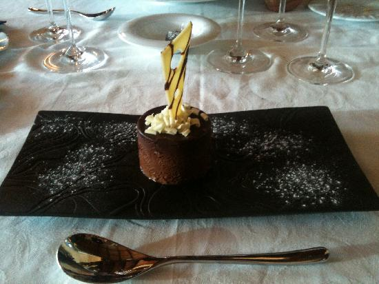 La Tina : Mousse de chocolate. Maravilloso, exquisito.