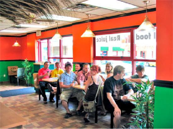 Quench Bistro and Juice Bar: Happy Customers