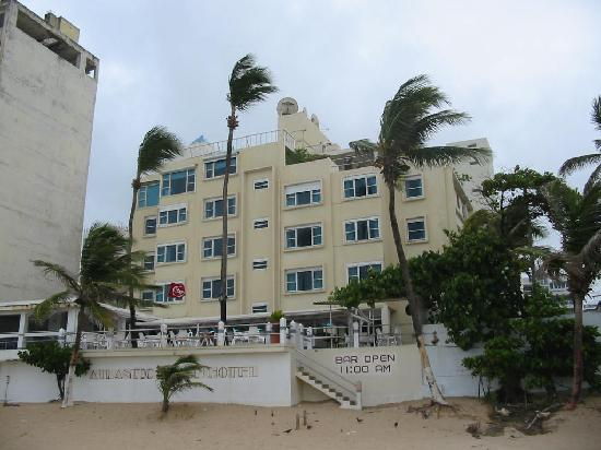 Atlantic Beach Hotel From The