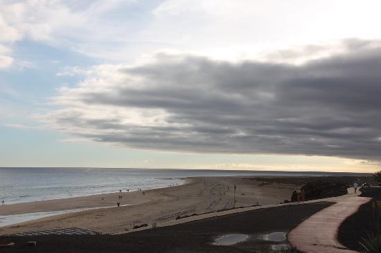 Iberostar Fuerteventura Palace: beach in front of the hotel