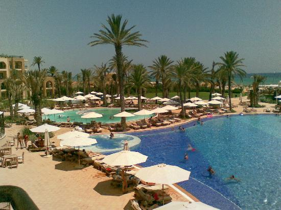 Movenpick Resort & Marine Spa Sousse : The swimming pools