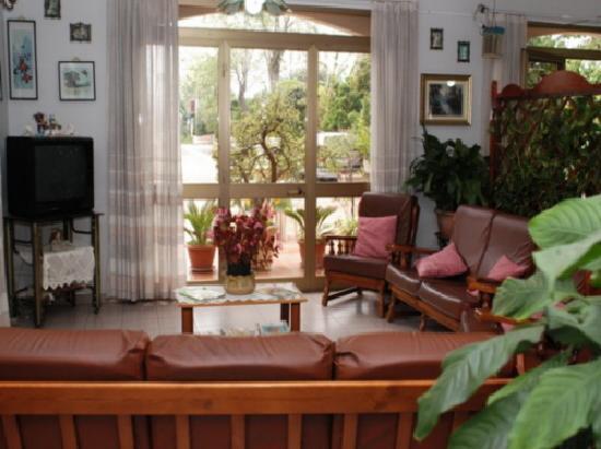 Hotel Eliseo: sala tv