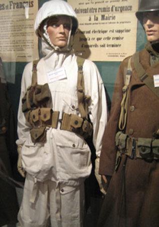 Calais, Frankrike: American soldier, 1944
