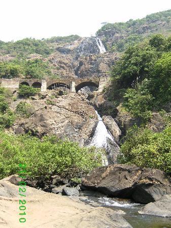 Goa, India: Dudhsagar falls