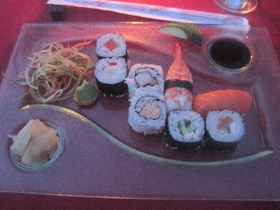 Letoonia Club & Hotel: sushi restaurant