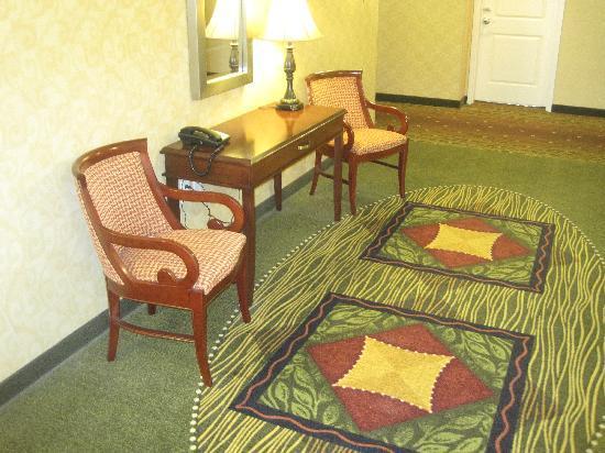 Hilton Garden Inn Blacksburg: Furniture off the elevator