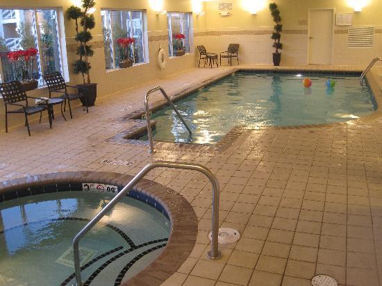 Hilton Garden Inn Blacksburg: Spa and pool