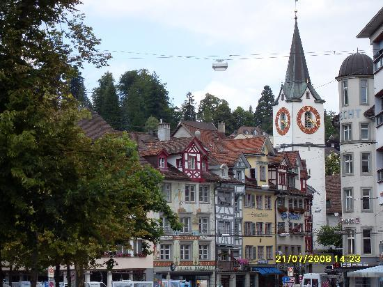 St. Gallen, Switzerland: The town