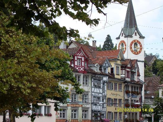 St. Gallen, Sveits: The town