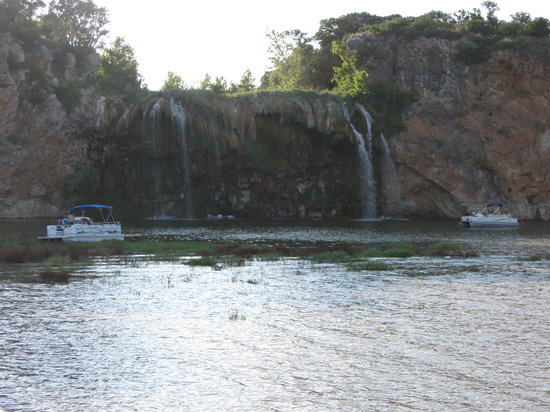Vanishing Texas River Cruise: The water fall