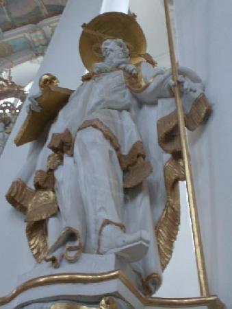 Wies Church : statue