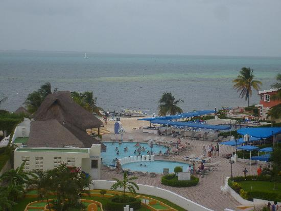 Aquamarina Beach Hotel: Picture from the room
