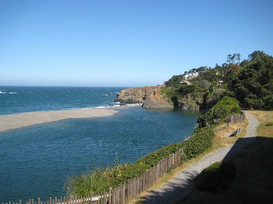 Seacliff Motel on the Bluff : View from the small patio