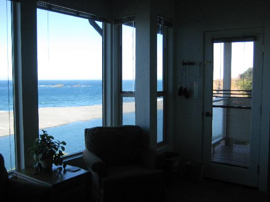 Seacliff Motel on the Bluff: View from the room