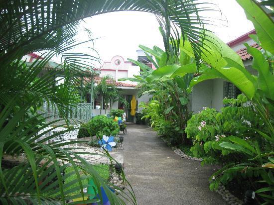 Tapachula, México: inside patio