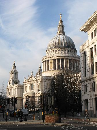 London, UK: St.Pauls Cathedral