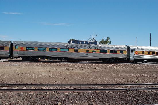 Williams, Arizona: Our rail car for both trips
