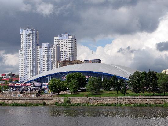 Chelyabinsk, Rusya: Shopping Mall
