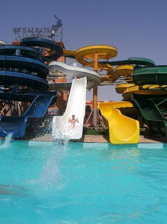 Albatros Resort Hotel Hurghada : Waterslides