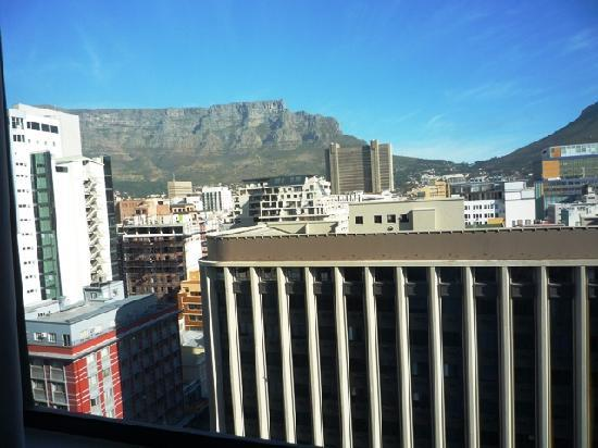 View Of Table Mountain From My Room Picture Of Strand Tower Hotel - Table mountain hotel cape town
