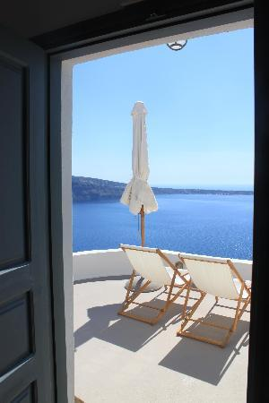 Spitia Houses: Looking out from inside